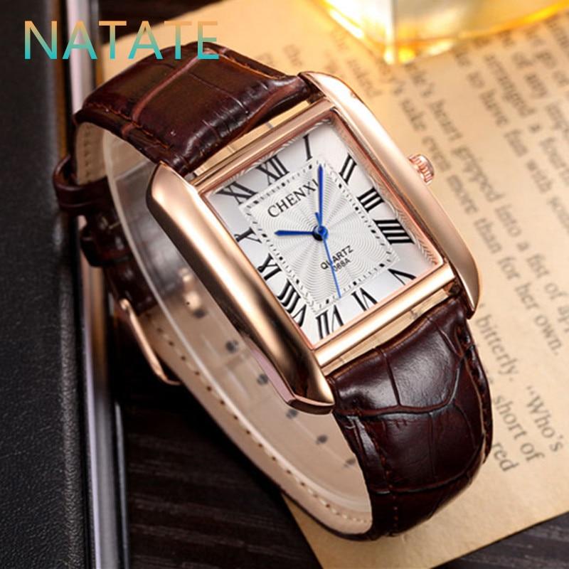 NATATE Men Waterproof Business Casual Zegarki Mężczyźni Luksusowa - Męskie zegarki - Zdjęcie 2
