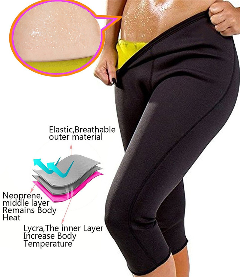 Slimming Pants Women Neoprene Sauna Suit Control Panties Weight Loss Hot Sweat Waist Trainer Body Shaper Shorts Keep Warm (5)