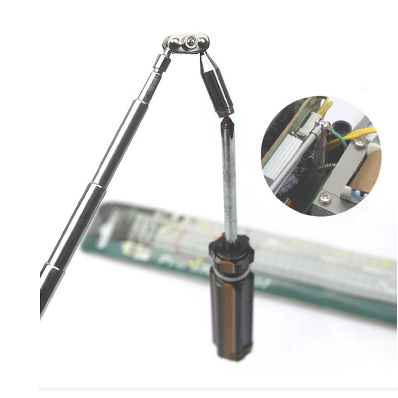 MS-323 Portable Scew Magnetic Pick Up Rod Tool Stick Extending neodymium Magnet 1LB Gallium Metal ms 323 portable screw magnetic pick up rod tool stick extending magnet 1lb