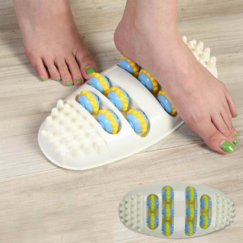 Plastic foot Massages roll improves Promotes metabolism and feet blood circulation  message health care product A3