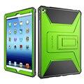 Para ipad air 2 case para ipad pro 9.7 case capa resistente completa proteção case protetor de tela embutida pc + tpu projeto da camada dupla