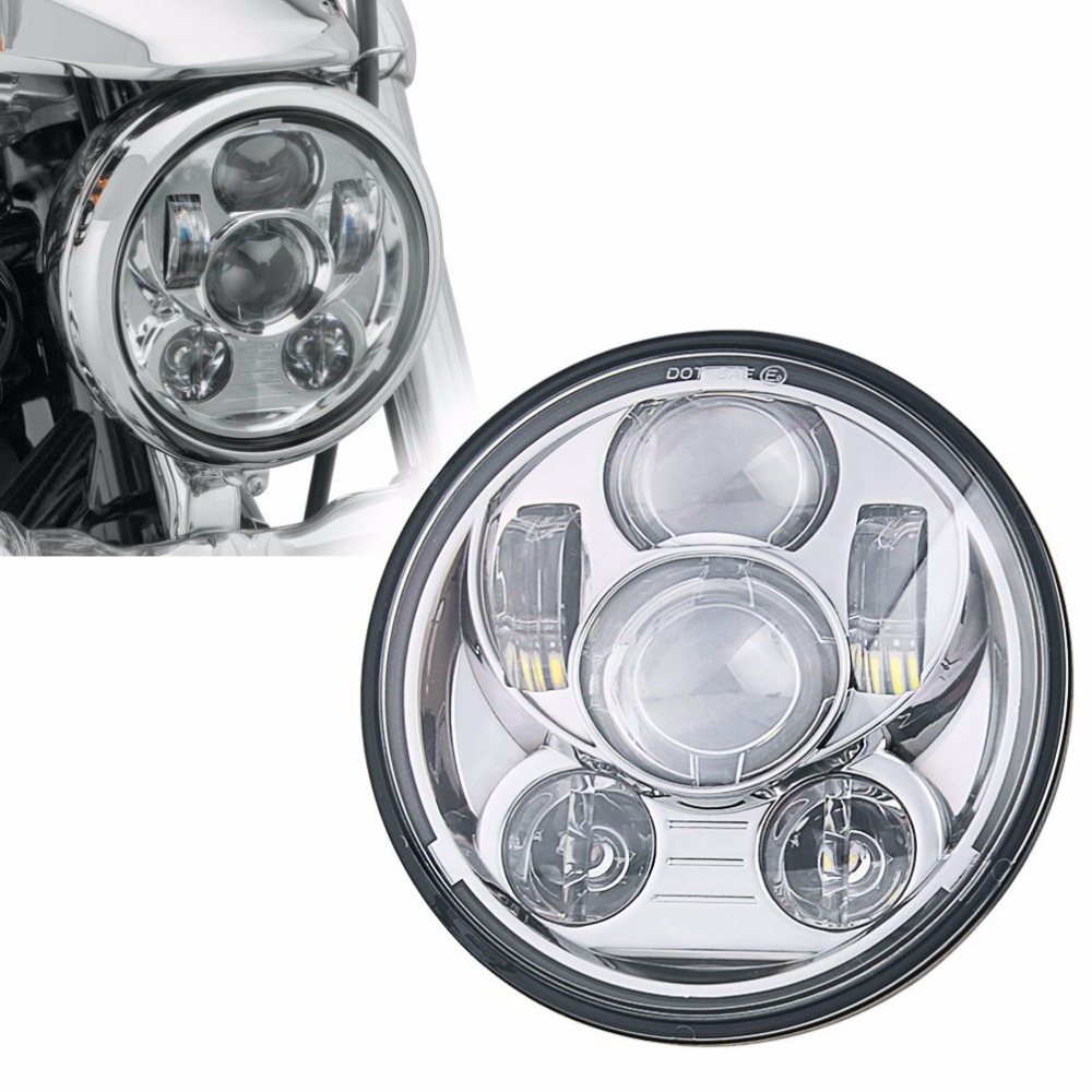 ФОТО 1PCS New arrival !! 5.75inch Led headlight for Harley Motorcycle, Harley 5.75