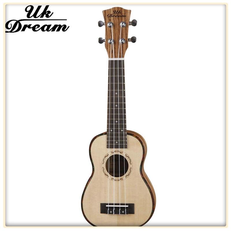 21 inch wood color picea asperata veneer wooden guitar ukulele hawaii small guitar 4 string. Black Bedroom Furniture Sets. Home Design Ideas