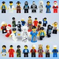16 Style Cartoon King Santa Claus Action Figures Building Blocks Toy Kids Gift New In Bag Compatible with Lego