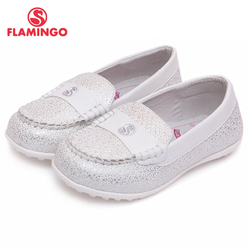 FLAMINGO 100% Russian Famous Brand 2017 Fashion Black classic School Shoes Fashion Students Casual Shoes for girl 61-CT106/CT107