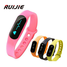 Heart Rate Monitor Smart Band Health Fitness Tracker Bracelet Bluetooth 4.0 Sport Wristband for Android IOS Smartphone
