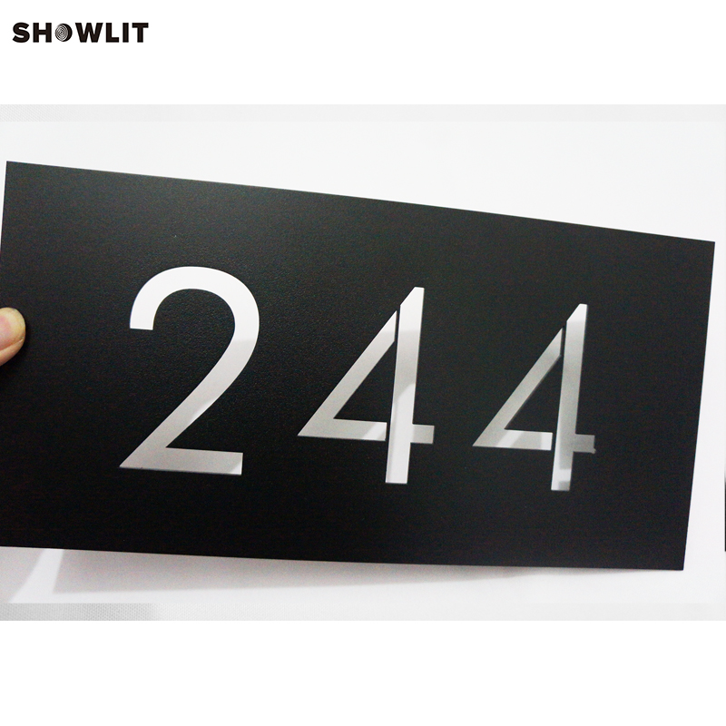 BLACK HOUSE NUMBERS MODERN HOUSE NUMBER DESIGN SIZE OPTIONS CUSTOM MADE куртка house design code