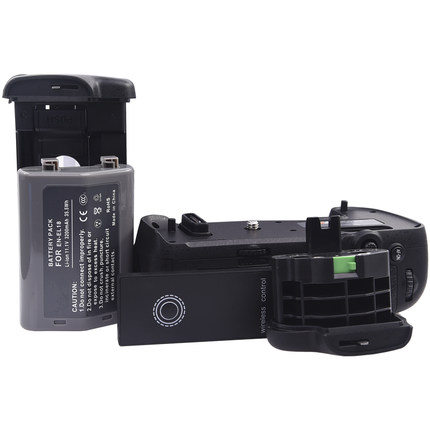 MB D17 Replacement Battery Grip IR Remote Control EN EL18 Battery BL 5 Chamber Cover for