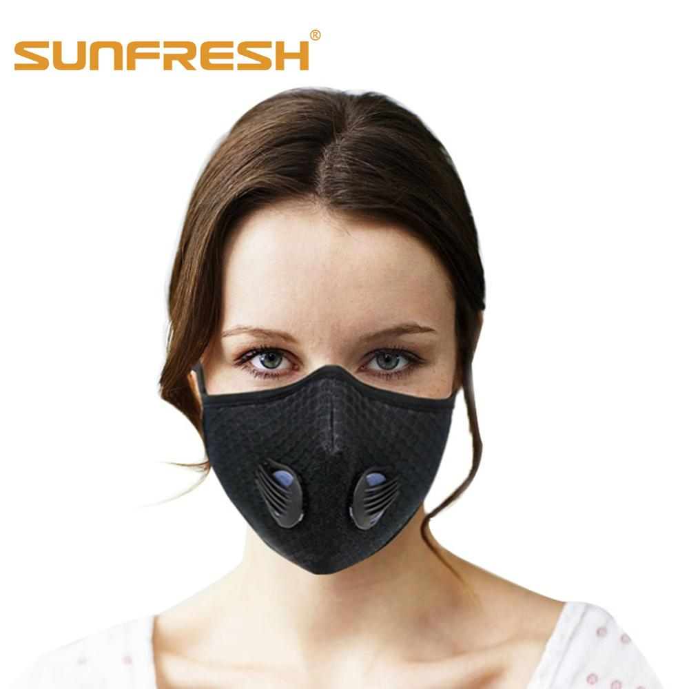 Fashion N95 Anti Fog Pm2.5 Mouth Air Pollution Sports Mask Outdoor Sport Equipment Riding N99 Mask Running Medical Fabric Mask