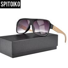 цена на Wholesale factory directly price  wood/bamboo temple sunglasses  (J0122)