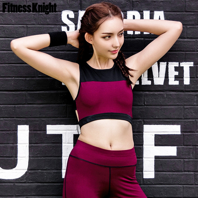 feee7b95ef3b1 Sport Underwear Fitness Women Sport Bra Mesh Elastic Yoga Bra Tank Top  Running Vest Gym Jogging Fitness Bra Brassiere Sportswear