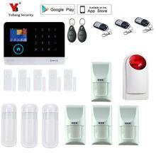 Yobang Security wif GSM Alarm System WiFi Security Alarm System GPRS Home Alarm System Remote Control pet-immunity PIR motion