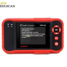 EDLSCAN OBDII запуск диагностического инструмента CRP129 для ENG AT ABS SRS тестирование лучше, чем Запуск CRP123 Creader VII 8-код считыватель