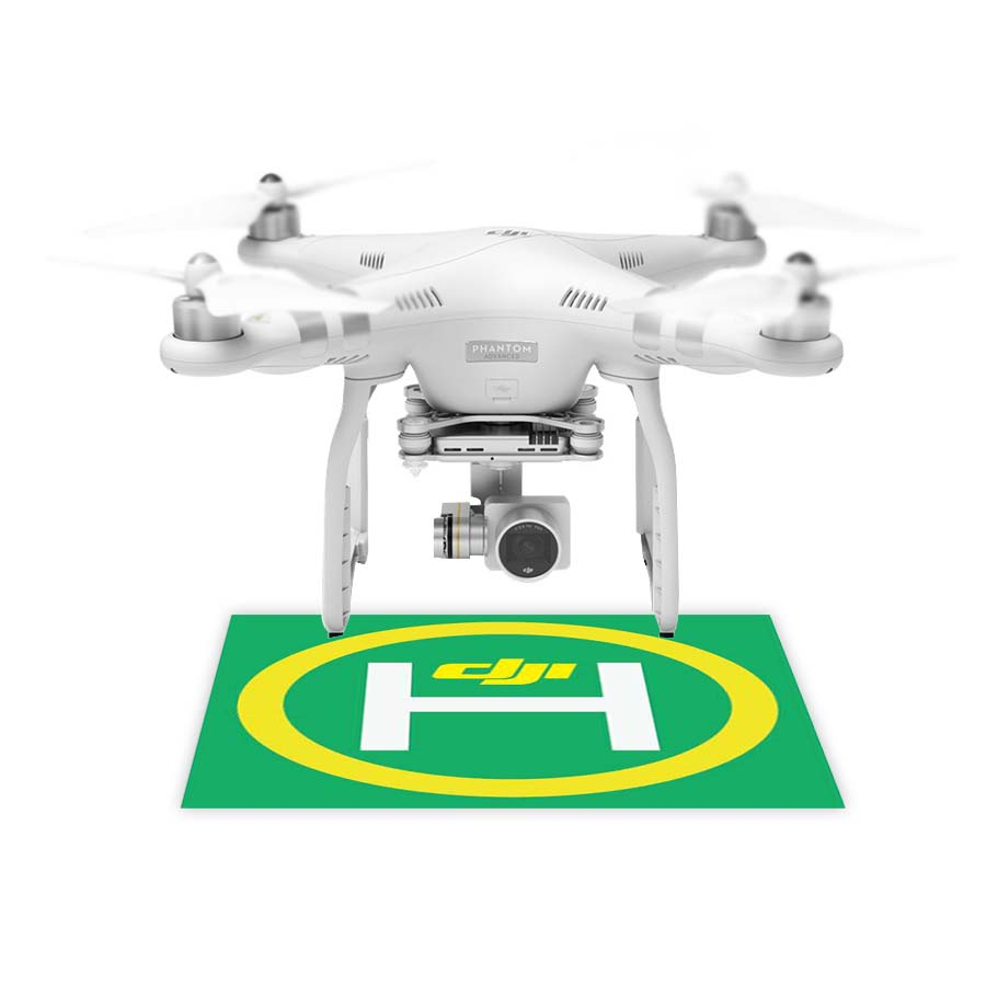 DJI Phantom 3 Accessories RC Drone Simple Takeoff Landing Apron Stickers Base logo signa ...