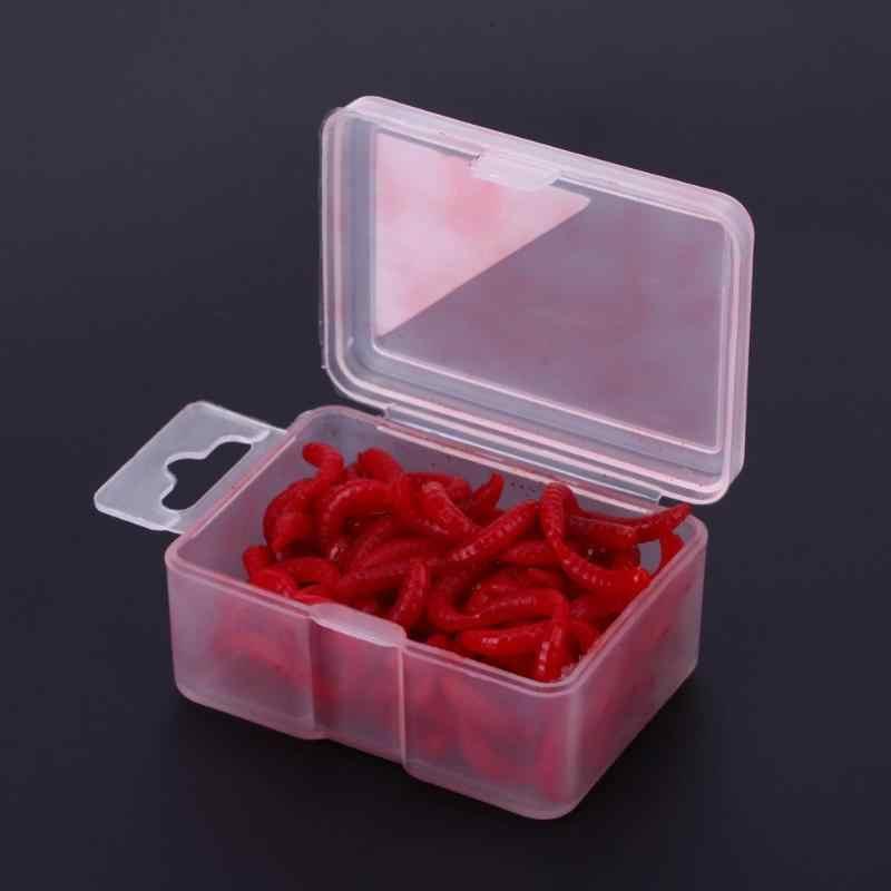 Мягкие приманки карп рыболовные приманки силиконовые запах Красный червь ИСОГД Artificiais pesca