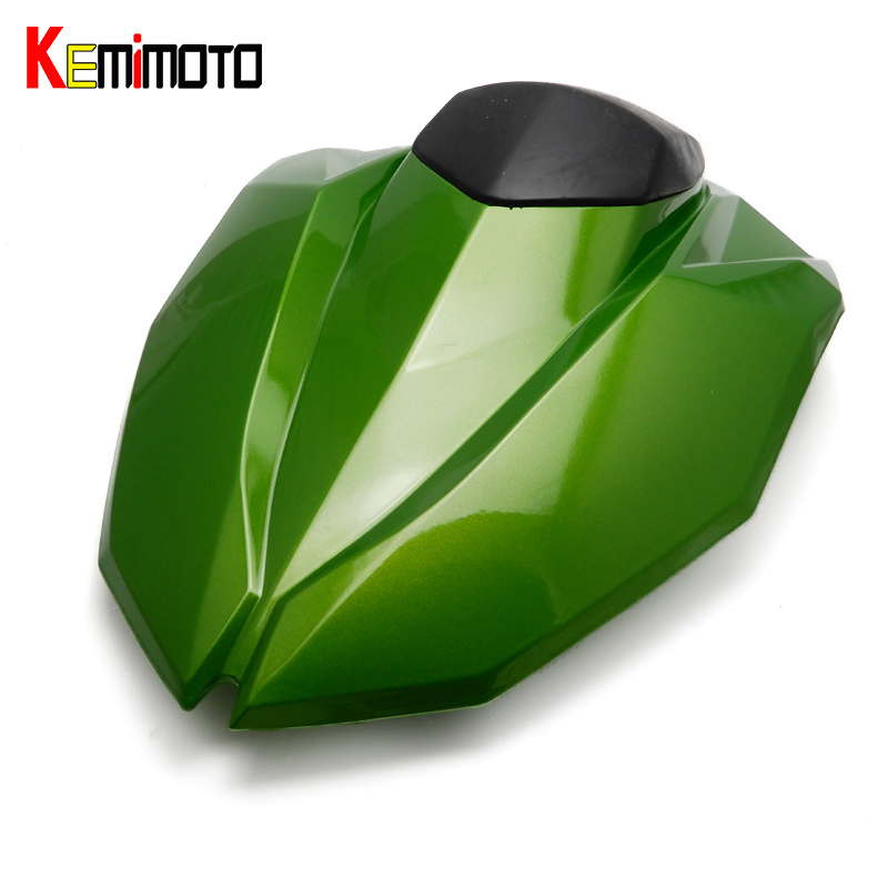 KEMiMOTO Z800 Rear Seat Cover Cowl For Kawasaki Z 800 2013 2014 2015 Motorcycle Rear Seat Cowl Fairing Mototcycle Accessories for ktm 390 duke motorcycle leather pillon passenger rear seat black color