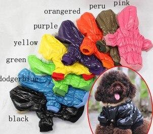 Geleerd Dierbenodigdheden Fashion Winter Puppy Kleding Kleur Gewatteerde Jas Warm Hond Down Parka Gratis Verzending