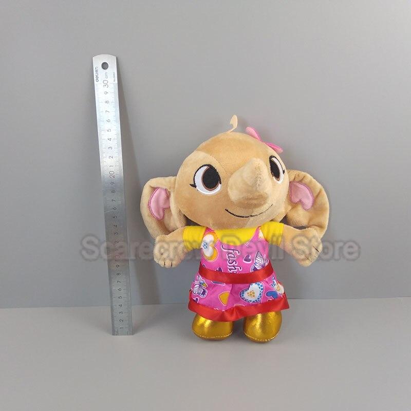 Conejito de bing amigo de bing felpa sula juguete muñeca elefante almohada suave animales de peluche juguetes niños regalo BMsula