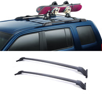 2PCS Car Accessories Car Roof Rack Cross Bars With Mounting Brackets Autobiles Carry Car Racks For 2009 2015 Honda Pilot