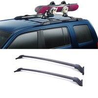 2PCS Car Accessories Car Roof Rack Cross Bars With Mounting Brackets Autobiles Carry Car Racks For 2009 2015 Honda Pilot