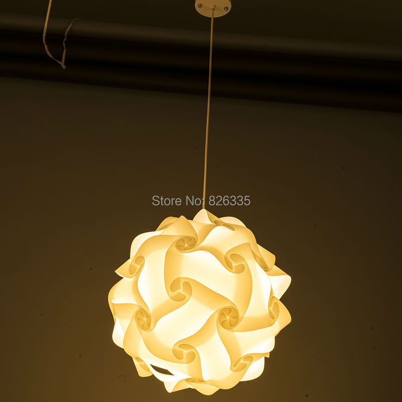 Home Puzzle Creative Jigsaw Celling Light Bar Decoration M Size Lamp Shade  Lampshade Design 30pcs In Lamp Covers U0026 Shades From Lights U0026 Lighting On ...