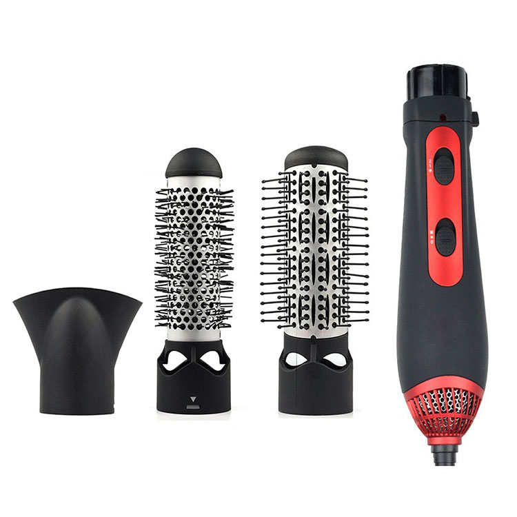 3-in-1 Multifunctional Styling Tools Hairdryer Hair Curler Hair Dryer Blow Dryer Comb Brush Hairbrush straightening combs 1200w