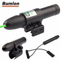 Chasse Vert Laser Pointeur Présentateur Stylo Visant Sight Laser Sight Portée Dot avec Ajustable Support de Montage 11 MM 20 MM 3-0006G