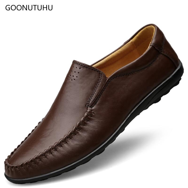 Ember cipő bőr valódi kenguru 2018 új stílusú férfi alkalmi - Férfi cipők