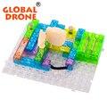 Circuito integrado de 120 proyectos parque bloques de construcción electrónica diy kits kits modelo plásticos ciencia educatioal juguetes de los niños