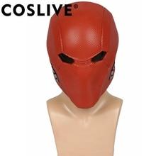 Coslive 2018 Хэллоуин-пати несправедливость 2 Красная Шапочка Маска Красный игры Косплэй взрослый костюм шлем реквизит для Хэллоуина Косплэй маски