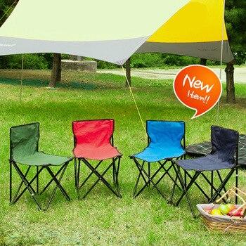 Açık eğlence katlanır sandalyeler kamp taşınabilir sandalye balıkçılık sandalye piknik barbekü kroki sandalye