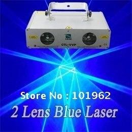 Бесплатная доставка 600 МВт синий лазер Шоу DJ этап Дискотека Свет
