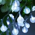 220 V 10 M 100 LED Cadena Luces de Hadas con la Cereza Luces de Bolas de Navidad de la Lámpara Led para el Jardín Del Banquete de Boda guirnalda Decoraciones