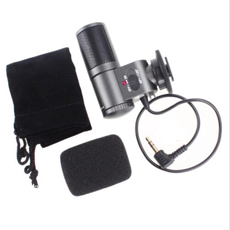 Camera Microphones SG-109 sg108 DV 3.5mm micro Microphone sg109 for canon nikon DSLR DV Camcorder 7D 5DII 550D 60D 600D T3i d90 аксессуары для фотостудий c dslr dv