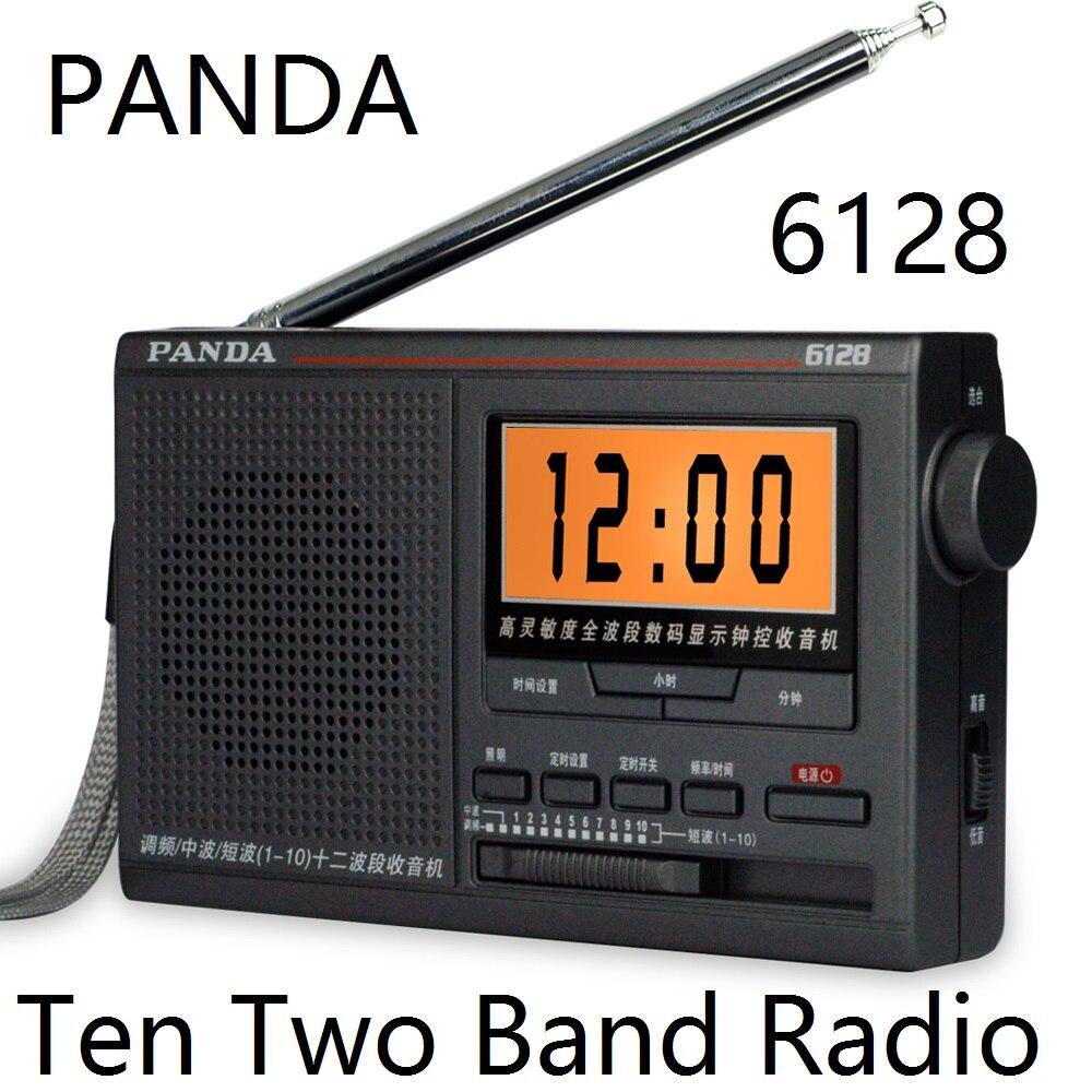 Vornehm Panda 6128 Radio Fm/medium Welle/kurzwelligen 12 Band Broadcast Campus Hochschule Eingang Prüfung Timing Digital Radio Tragbares Audio & Video Unterhaltungselektronik