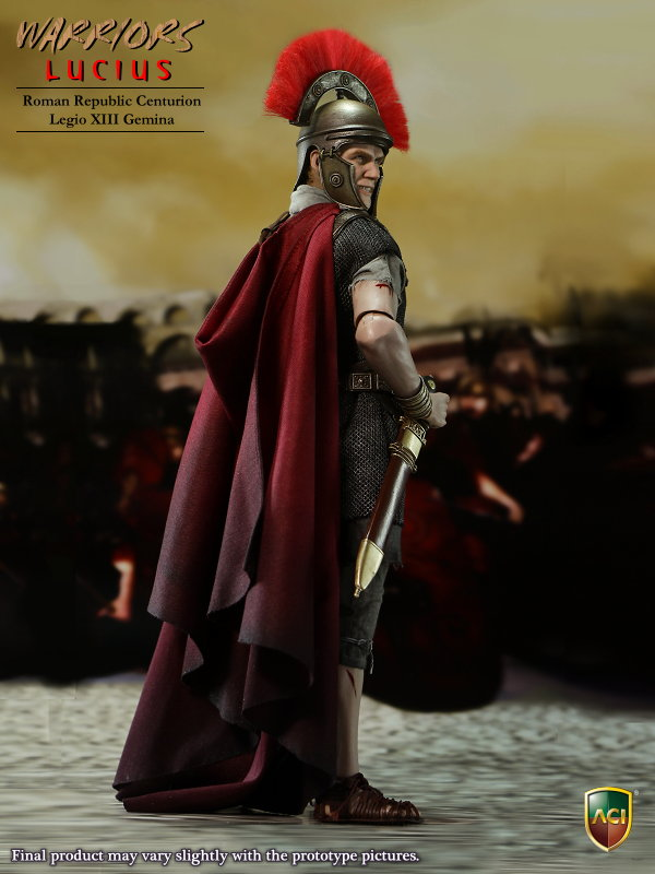 1/6 Roman Republic Centurion XIII Gemina Warriors Lucius Action Figure Collection Model Toys With box secret warriors the complete collection volume 1