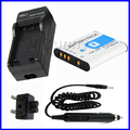 NP-BK1 Battery+Charger for Sony Cybershot DSC-S750,DSC-S780,DSC-S950,DSC-S980,DSC-W180,DSC-W190,DSC-W370,MHS-PM1,MHS-CM5,MHS-PM5