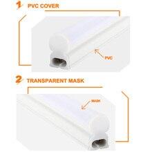 LED Tube T5 Lamp 220V 230V 240V PVC Plastic Fluorescent Light Tube 30cm 60cm 6W 10W LED Wall Lamp Warm Cold White