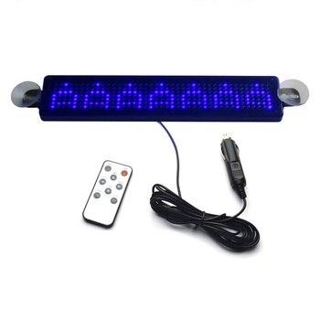 12 V дистанционный светодиодный программируемый знак дальнего света, Автомобильный светодиодный знак прокрутки для автомобилей/мотоциклов/...