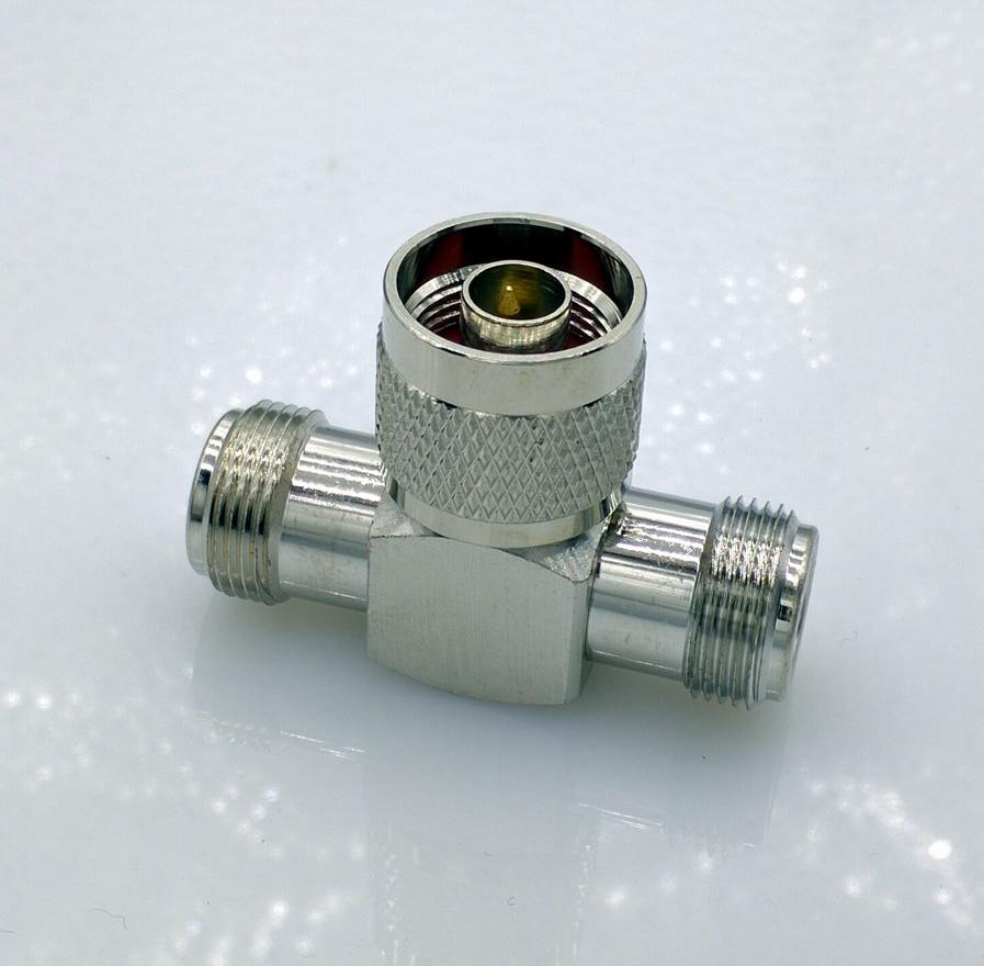 L16 N Type Male Plug to Female splitter RF Coax Adapter convertor 100 pcs rca male plug to bnc female jack adapter coax coupler