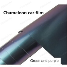 New arrival  152*20cm Shiny Chameleon car Film Auto Wrapping Vinyl Wrap Foil Car Sticker Color Change