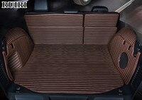 Best quality car mats! Full set car trunk mats for Jeep Grand Cherokee wk2 2018 2010 waterproof boot carpets cargo liner mats