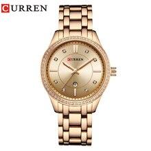 CURREN Ladies Wrist Watch Women New Fashion Female Clock Cal