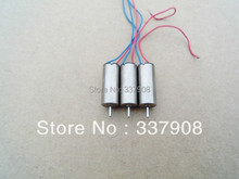 10pcs 6*14.5mm High Magnetic Coreless Motor 4.2V/0.05A/46000RPM For Remote Control Quadcopters/Aircraft/Helicopter Tail Motor