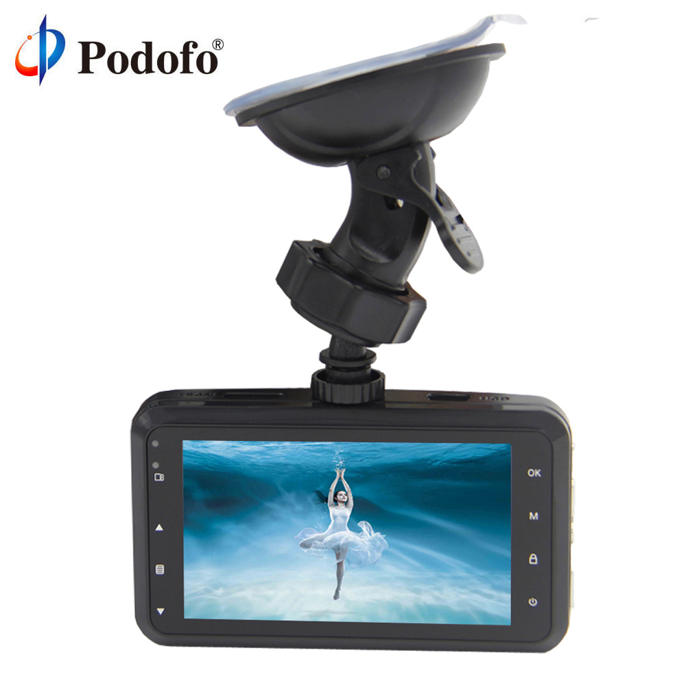 Podofo Car DVRs Novatek 96220 Camera Dash Cam Full HD 1080P Recorder Video Registrar Night Vision Blackbox Carcam Dash Camera