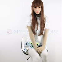 (Ching02)Quality Handmade Silicone Sexy And Sweet Half Female Face Ching Crossdress Mask Crossdresser Doll