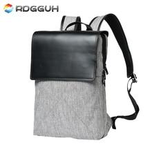 Rdgguh бренд Прохладный городской мужчины рюкзак большой Ёмкость 15 дюйм(ов) повседневный рюкзак для ноутбука Высокое качество школьная сумка для мальчиков-подростков