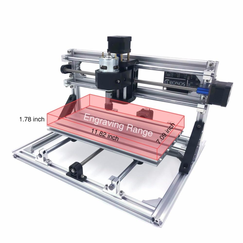 CNC 3018 Laser CNC Standard Mini Laser fresadora manuel CNC machine gravure Machine pièces de rechange bois routeur laser gravure
