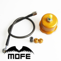 Mofe 5pcs E-brake Hydraulic Drift Handbrake Oil Tank for Hand Brake Fluid oil Reservoir With Oil Line +connector Fittings