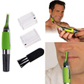 1 pcs Personal Face Care Stainless Steel Nose Hair Trimmer Removal Clipper Shaver w/ LED light for Men and Women